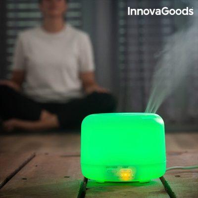 Többszínű LED Aroma párásító